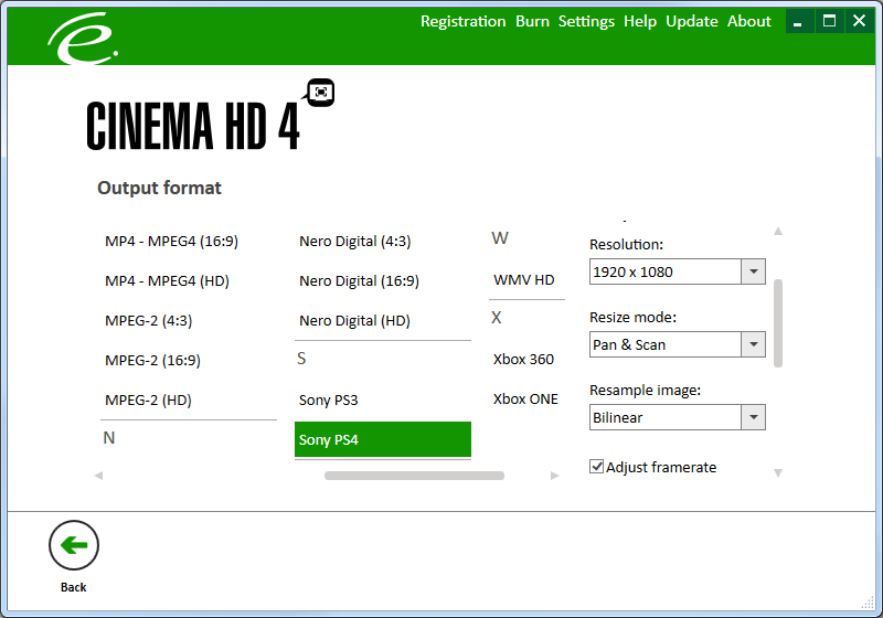 Click to view Engelmann Media Cinema HD screenshots