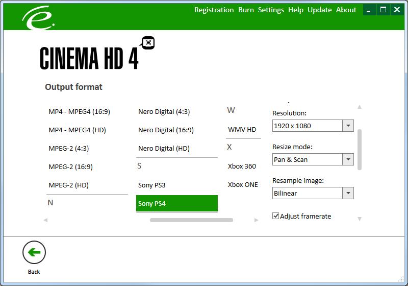 Click to view Engelmann Media Cinema HD 4 screenshot