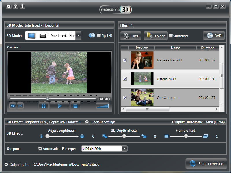 Engelmann Media MakeMe3D screen shot
