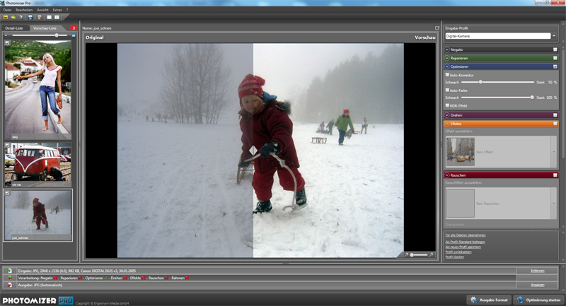 Click to view Engelmann Media Photomizer Pro screenshots