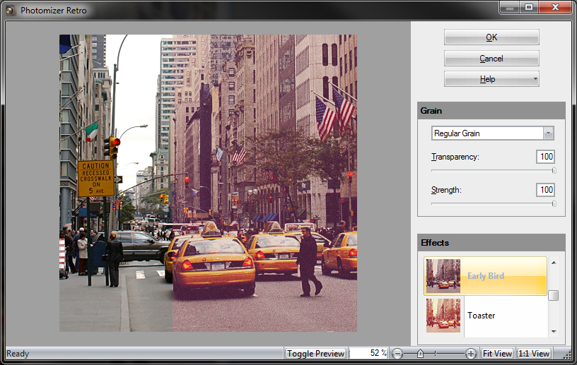 Click to view Engelmann Media Photomizer Retro Plugin screenshots