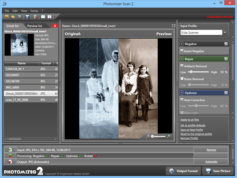 Click to view Engelmann Media Photomizer Scan screenshots